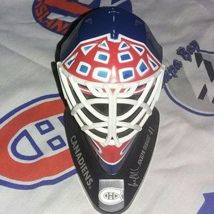 1998 Montreal Canadiens Thibault Goalie Mask NHL